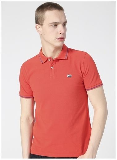Lee Lee L61ARLQM_Polo T-shirt  Kırmızı